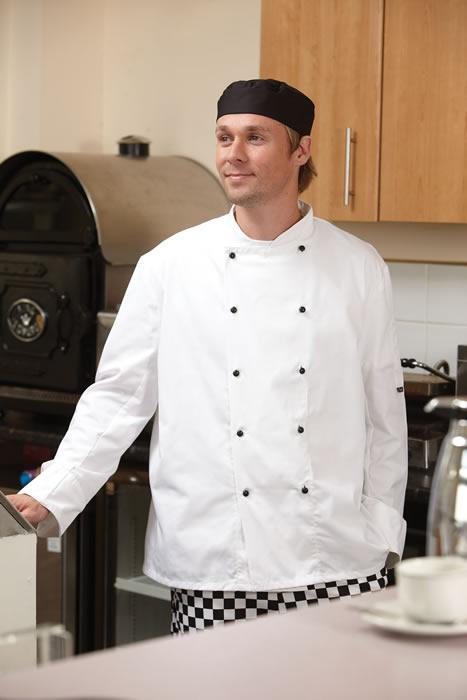 Budget lightweight Chefs Jacket long sleeve