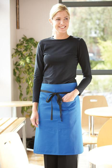 WAIST APRON WITH POCKET