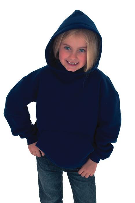Childrens classic hooded sweatshirt